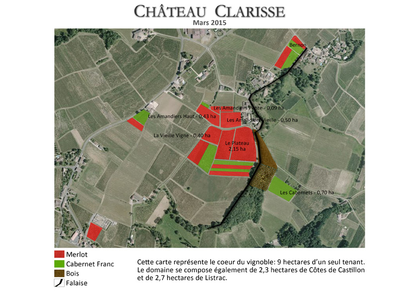 Carte Vignoble 2015